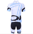 China new design white men cycling wears cycling Jersey suit