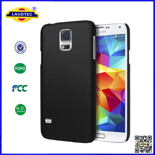 2014 Newest Black Hard Matte Ultra Slim Fit Cover Case for Samsung Galaxy S5 Mini Mobile Accessories Laudtec