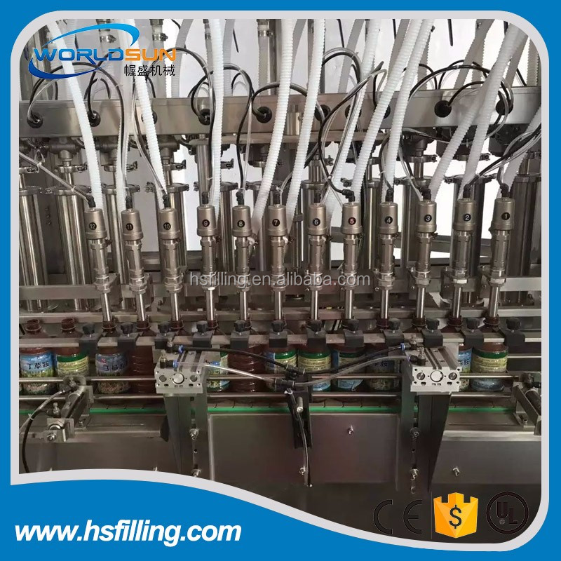 Good Quality Glass Bottle Soy Sauce Filling Equipment