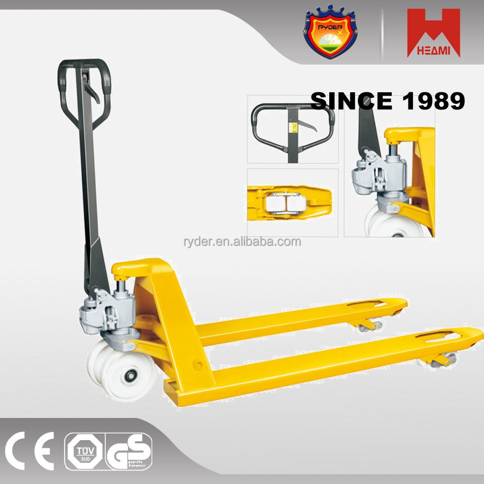 CYPH factory sale manual hydraulic pallet truck jack tuv