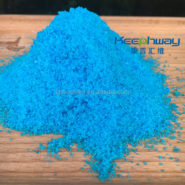 Copper Sulfate Pentahydrate which is industrial chemical