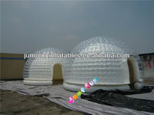 Air-tight PVC made Inflatable tent,Inflatable air dome with clear PVC bubble dome