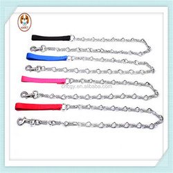 Twist knot cheap wholesale pet stainless steel dog chain
