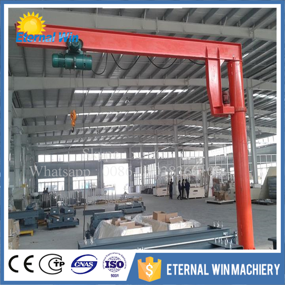 High quality ratate angle degree 360 2 ton small Jib crane