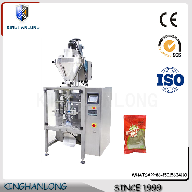 KL-160 low cost small vertical spices powder packing machine price