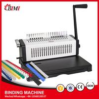 Office Equipment A4 Manual Comb Binding Machine/ book binding machine/ binder machine with independent cutter BM-2568-3