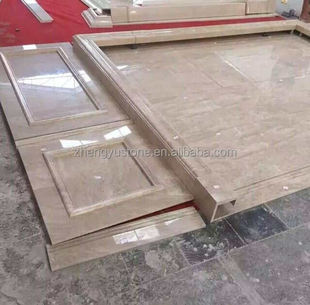Oman Beige Marble Slab for Interior Decoration