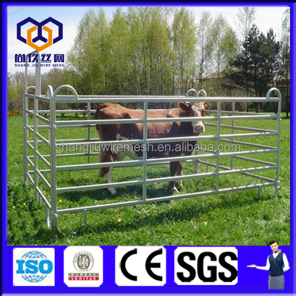 Sheep/cattle/buffalo/bull/cow /corral panel/ paddock fence/farm gates ( ISO9001)
