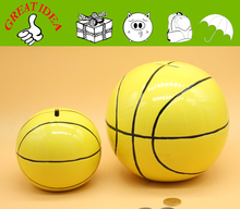 Bestseller ceramic basketball coin saving bank