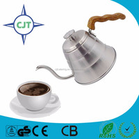 wooden handle Stainless Steel Coffee Kettle /High Quality Pour Over Coffee Kettle