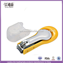 Baby Carbon Steel Nail Clipper With Plastic Holder