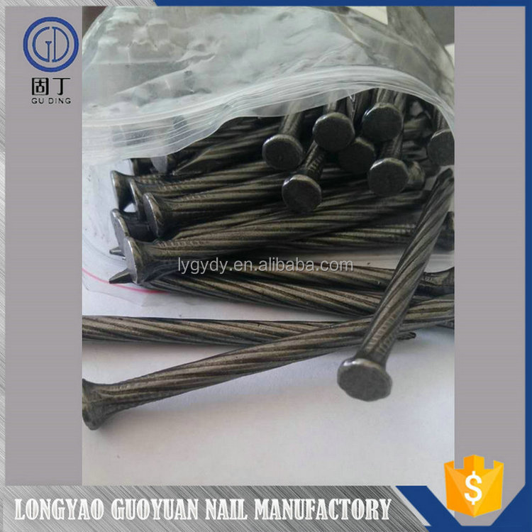 New product spiral shank concrete nails/Wholesale high standard concrete nails