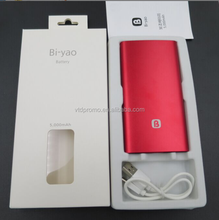 OEM High Quality Gift power bank 4000mah with logo printing, Power bank factory supply