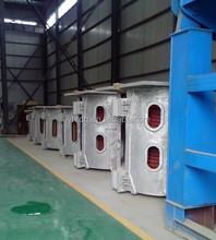 Steel iron melting furnace, capacity can be customized