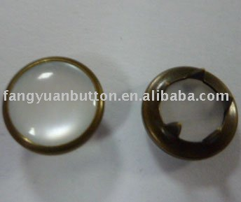 Pearl prong snap buttonC-06