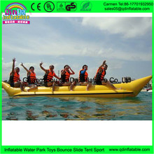 Hot Summer On The Water Inflatable Kayak 6 Person Pontoon Boat Of Water Park Equipment