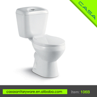Good quality white waterless ceramic portable toilet price