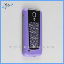 Purple Metal Armor Case For Galaxy S4 mini I8190
