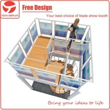 Yota offer two story booth, modular china exhibition booth