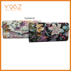 Printing flower classic leather wallet , coin purse for wholeasle