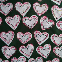 Brozning Heart Oxford Fabric Waterproof For Table Cloth