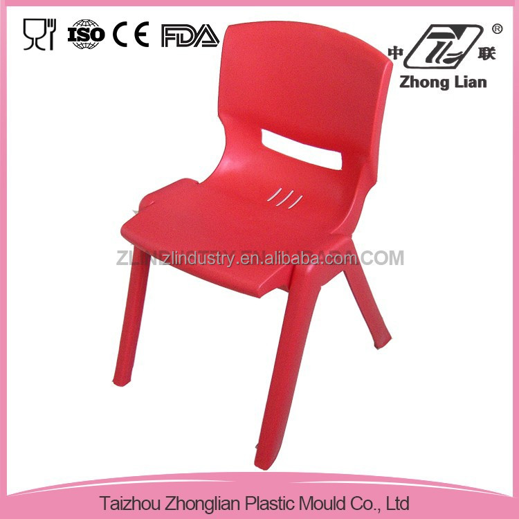 Dining plastic furniture stackable design colorful kitchen chair