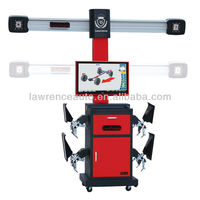 High Accuracy Lawrence X3D Wheel Alignment with CE Best 3D Alignment