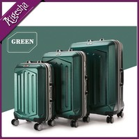 High quality polycarbonate eminent trolley luggage