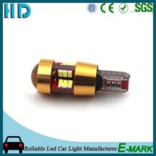 2016 design new car accessories products t10 5smd auto led bulb 9smd