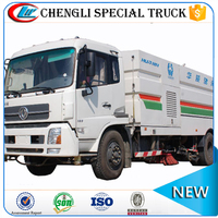 Hot Sale Dongfeng 4x2 5CBM Intelligent Road Sweeper Washer Truck