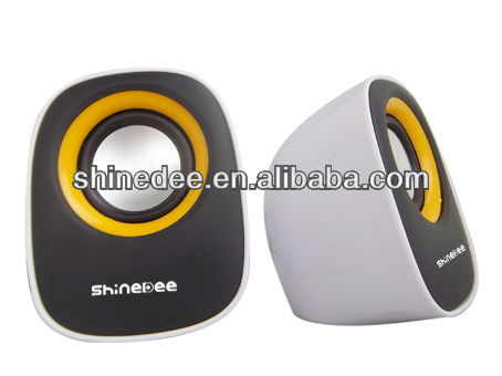 2.0 unique for notebook/pc/computer/mp3/mp4,multimedia speaker ( SP- 076)