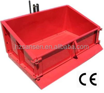 3Point Tractor Transport Box, Trip Scoop, Farm Equipment