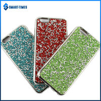 [Smart Times] 2016 Sparkling Diamond Electroplate TPU Soft Cell Phone Case Cover for iPhone 6 Case