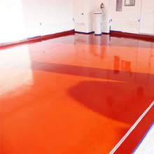 Water oil proof acrylic polyurethane paint