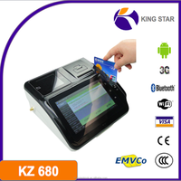 New design 7inch emv tablet pos