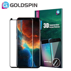 GOLDSPIN Mobile Tempered Glass Film For Samsung Galaxy S9 Custom Screen Protector