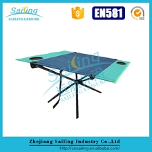 Pool Discount Compact High Quality Portable Folding Camping Table With Seats