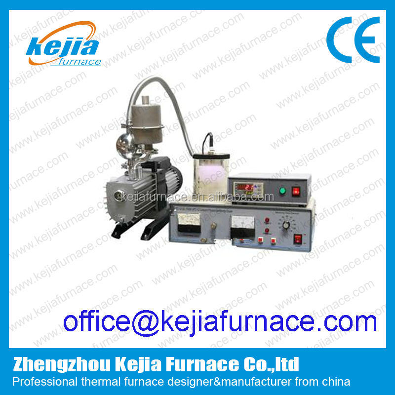 Compact Magnetron Plasma Sputtering Coater with substrate heater lab PVD machine