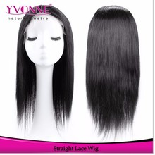 Full Lace Wig Natural straight Brazilian Hair Extension