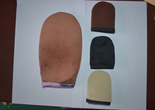 2016 Luxury self tanning mitts for apply tanning lotion