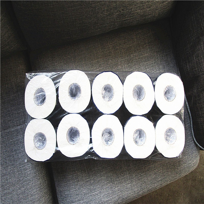 10.5*9.5cm toilet brands 100% Virgin wood pulp tissue paper roll