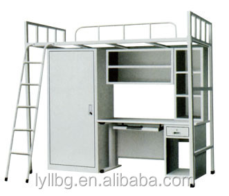 Longli Promotional Dormitory Bed Specific Use and Metal Material flat bed frame
