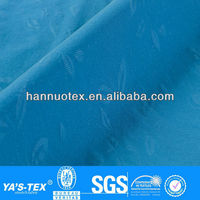 Hot sale for fashionable polyester spandex fabric elastic embossing printed fabric