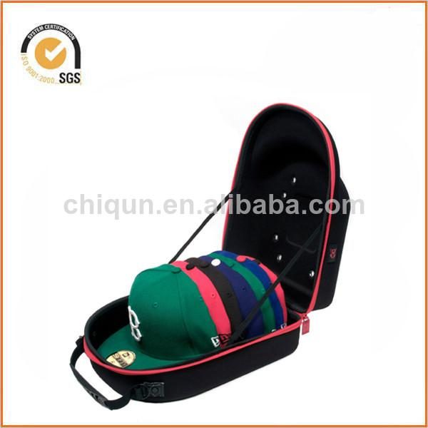 Homiegear Brand Carrier Case - 6 Hats for New Era Caps, Snap Back, Fitted By Chiqun Donggaun CQ-H01028