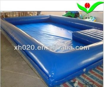 Large inflatable deep swimming pool guangzhou with pool for Large size inflatable swimming pool