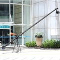 Professional Video Filming 12m(39ft) 2-Axis Jimmy Jib Camera Crane For Sale