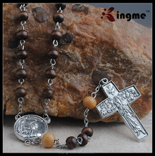 high quality catholic wood rosaries mens gift catholic rosary