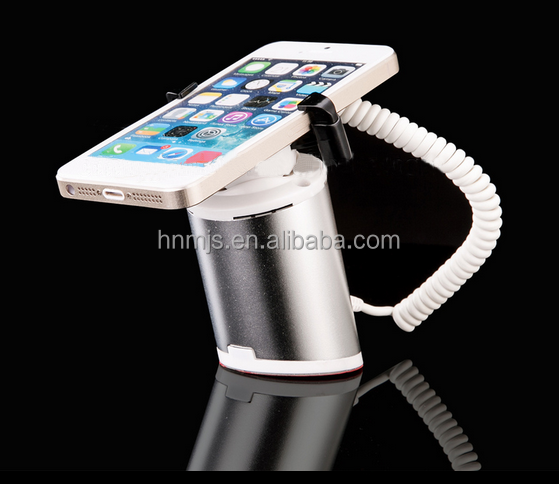 Mobile Security anti-theft display stand holders with alarm function for mobile phone