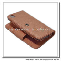 001 New vintage leather mobile phone case