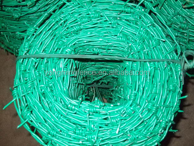 raw material barbed wire/galvanized barbed wire fence